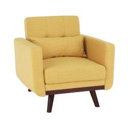 Kinyitható Fotel, mustár, ARKADIA