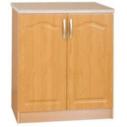 Alsó szekrény, égerfa,LORA MDF NEW KLASIK S60