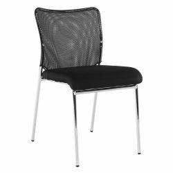 ALTAN Irodai szék, fekete/króm