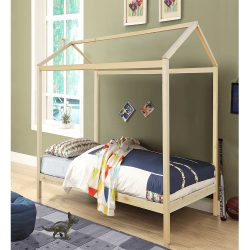 ATIMAD Montessori ágy, fenyőfa, natúr