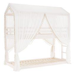 ZEFIRE Függöny, fehér anyag
