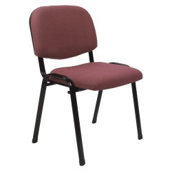 ISO 2 NEW Irodai szék, vörösesbarna