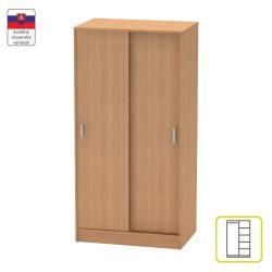 BETTY 4 BE04-002-00 2 ajtós szekrény tolóajtóval, bükk