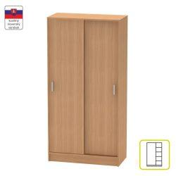BETTY 4 BE04-003-00 2 ajtós szekrény , bükk