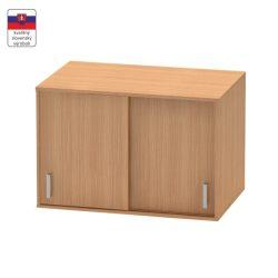 BETTY 4 BE04-005-00 2 ajtós felső szekrény tolóajtóval, bükk