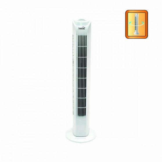 Oszlopventilátor, fehér, 80 cm, 45 W