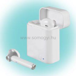 Bluetooth TWS fülhallgató dokkolóval