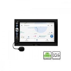 "Fejegység; 2xDIN, 7"" LCD, RDS, BT, A-LINK, i-LINK"