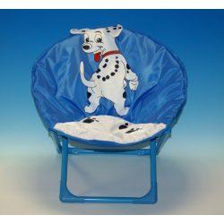 Fémvázas kutyás gyerek fotel