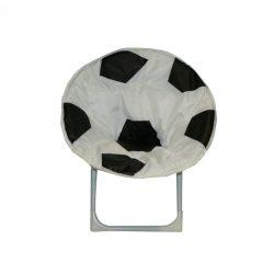 Fémvázas foci labdás gyerek fotel