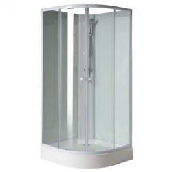 Aigo 90x90 cm íves zuhanykabin zuhanytálcával