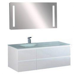 CUBE 100 komplett fürdőszobabútor