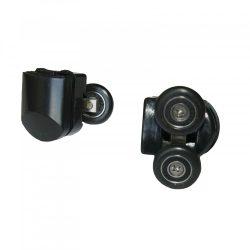 Z6 Black dupla zuhanykabin görgő