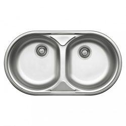 Duet 2 medencés mosogató csepegtető nélkül