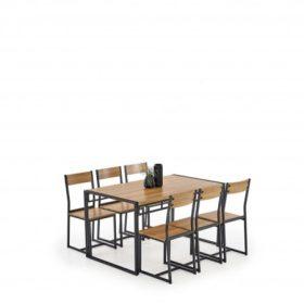 Halmar éttermi asztal