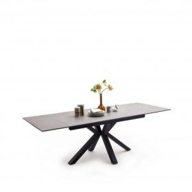 Szögletes étkezőasztal